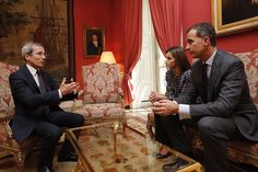 """Gert's Royals on Twitter: """"King Felipe & Queen Letizia of Spain mets with French Ambassador today to express their condolences for #NiceFrance"""