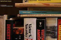 Visitando bibliotecas virtuales particulares: Martha Rosler Library (selección de referencias bibliográficas)