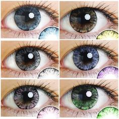 EOS Ice Color Contacts Combo Deal (3 Pairs) #circlelens #colouredcontacts #coloredcontactlenses