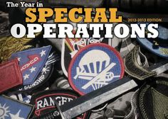The Year In Special Operations 2012-2013 Edition Now Online