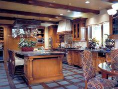 Stylish Inlaid Flooring