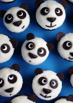 Panda muffiny