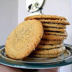 Cookies de pasta de amendoim - sem glúten