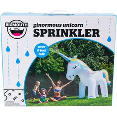 Buy A Big Mouth Toys Ginormous Unicorn Yard Sprinkler