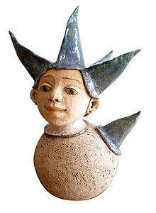 Socha - rarášik - 4931658_ Garden Sculpture, Sculptures, Outdoor Decor, Artwork, Handmade, Home Decor, Work Of Art, Hand Made, Decoration Home