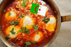 World Cup Party: Moroccan Merguez Ragout with Poached Eggs