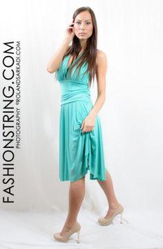 fashionstring.com webshop, Egészruha, nyári ruha, türkizzöld, női ruha, női ruha üzlet,  #model photo #rolandsarkadi.com # sexy girl #party ruha #randi ruha #ricza nicolett #Mosonmagyaróvár #női ruha üzlet #fashion #women #photography #busty