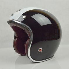 Kostenloser versand Holand BEON motorrad motorrad Casco Capacete helm 3/4 offenes GESICHT Retro Vintage Jet Roller Helme, ECE,(China (Mainland))