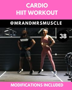 Add this fat burning exercise to your HIIT workout routine to burn fat and tone your muscles. Add this fat burning exercise to your HIIT workout routine to burn fat and tone your muscles. Workout Cardio, Hiit Workout Routine, Full Body Hiit Workout, Gym Workout Videos, Cardio Training, Ab Workout At Home, At Home Workouts, Workout Fitness, Weight Training