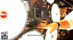 Rotolight Anova 6K Light Rig with camera mount