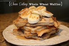 Clean Eating Whole Wheat Waffles Recipe on Yummly. @yummly #recipe