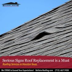 Your home is the structure that protects you and your belongings from the elements. An important part of its ability to provide this protection depends on how well your roof is maintained... Read more: http://bit.ly/2HlXbUw  #Roofing #RoofInstallers #RoofRepair #HomeRoofing #Contractor #RoofingMaintenance #Houston #HoustonRoofing #Bellaire #ClearLake #JerseyVillage #Katy #MissouriCity #Pasadena #Southside #Houstoncontractor