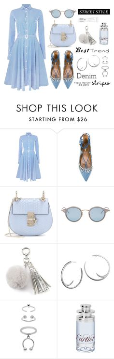 Best Trend of 2016 by dressedbyrose on Polyvore featuring Polo Ralph Lauren, Aquazzura, Chloé, Maria Francesca Pepe, Shaun Leane, Thom Browne, Juicy Couture, Beauty Rush and Cartier