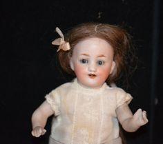 Antique Doll All Bisque Kestner Dollhouse Miniature