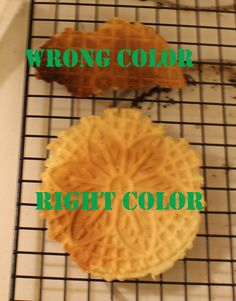 A few years ago, my sister and I convinced my mom to buy a pizzelle maker on Black Friday.  For those of you who don't know what the heck a pizzelle is (much less a pizzelle maker), it'…