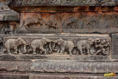 Mahanavami dibba or the great platform in Royal enclosure in Hampi, Ballari district, Karnataka, India #IncredibleIndia #WorldHeritage #Karnataka #Travel #India