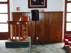 """IMÁGENES DE NUESTRA SEDE HISTÓRICA.-Gran Salón """"Libertador Miguel Hidalgo"""", ubicado en la planta alta de nuestra sede en Justo Sierra No. 19, Centro Histórico de la Ciudad de México"""