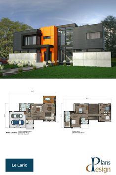 Dekoration Ideen Moderne Villa Grundriss 3d Mit Wohnung