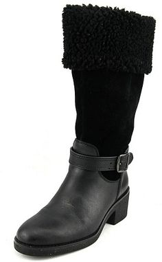 low priced 9708e dc39b 119.99 - Coach Parka Women US 7.5 Black Mid Calf Boot. Black Boots for  Women