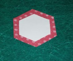 English paper piecing using glue instead of basting