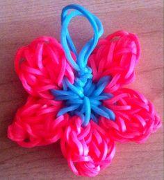 Flor hibisco llavero