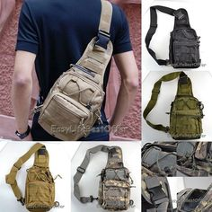 When you are camping, hiking,cycling(some other outdoor sport), Want Some Daily Used good pack and easy pick, Maybe this sling backpack will be your best choice. Outdoor Sport Camping Hiking Trekking Bag Tactical Cycling Sling Backpack