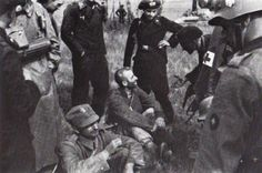 The first Polish POW's  ...of Panzer-Regiment 11. September 1, 1939.