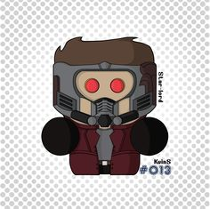 #StarLord #GuardiansOfheGalaxy #Avengers #MarvelComics #Illustration #Illustrator #GraphicDesign