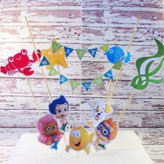 Hey, I found this really awesome Etsy listing at https://www.etsy.com/listing/156186920/bubble-guppies-cake-decoration-bubble