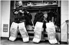 tuukka and anton :) i miss anton but halak is a really good goalie Boston Sports, Boston Red Sox, Boston Bruins Hockey, Hockey Goalie, Sport 2, New England Patriots, Nhl, Olympics, Photo Galleries