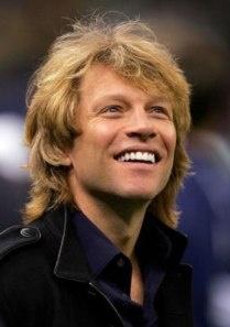 Is it weird that I have a tiny crush on Jon Bon Jovi? I didn't think so.
