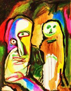 Lucebert (1924-1994) was een Nederlands dichter en schilder. In de jaren zestig legde hij zich vooral toe op de beeldende kunst, die destijds 'figuratief-expressionistisch' genoemd werd. Zijn schilderwerk, dat vooral in het begin sterk beïnvloed was door Cobra, geeft blijk van een vrij pessimistisch wereldbeeld.-1992.