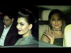 Urvashi Rautela & Sonakshi Sinha at pre party of Jio Filmfare Awards Pre Party, Sonakshi Sinha, Awards 2017, Gossip, Interview, Youtube, Youtube Movies