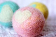 Sunny Sweet Life: Felting Series, Part 3: Wet-Felted Jingle Balls