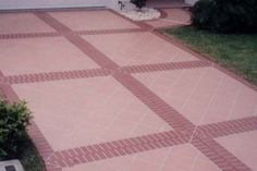 concrete and brick driveway designs - Google Search