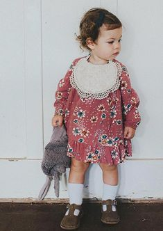 Handmade Lace Bib by Nine Toes & Co on Etsy