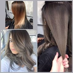 Pictures of Ash Brown Hair Color
