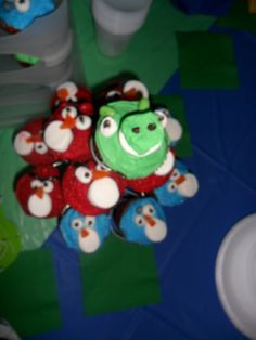 Cupcakes at Ricky's Party