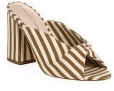 13ec0c988f73f New Arrival ~ Loeffler Randall Laurel Striped Mules ~ Shoes Section