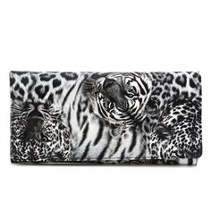 Snap Closure Color Block Leopard Print Wallet #>=#>=#>=#>=#> Click on the pin to check out discount price, color, size, shipping, etc. Save and like it!