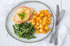 Lekker en snel: kip Hawaï uit de oven met Krokante Mini-Krieltjes - Leuke recepten