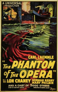 The Phantom of the Opera Masterprint