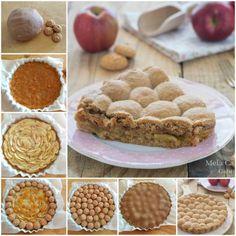 crostata amamela Apple Crostata- Need to translate recipe Torte Cake, Cake & Co, Pie Dessert, Dessert Recipes, Desserts, Cheesecake, My Pie, Baked Apples, Sweet Cakes
