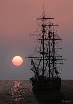 Awaiting The sunset