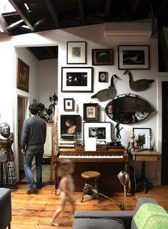 Brooklyn Heights loft, NY---decor examples