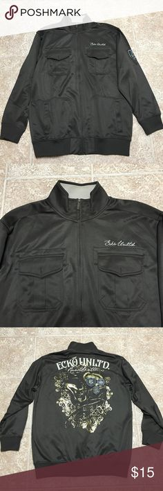 Mens Lightweight Jacket Excellent condition zip up jacket. Front pockets. Free of any stains Ecko Jackets & Coats