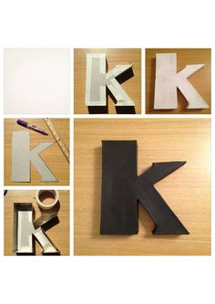 1000 images about diy box letters on pinterest cereal for What type of cardboard are cereal boxes made of
