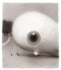 "Illustration from her ""Bjornstrand"" story by American comics writer & illustrator Renée French (b 1963). via the artist's blog"