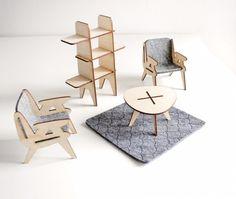 Dollhouse Furniture, design: Studio Projektowe Mali