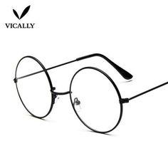9d122fe62e6 Vintage Round Harry Potter Glasses frame Female Brand Designer gafas De  Solmodkily Mode Harry Potter